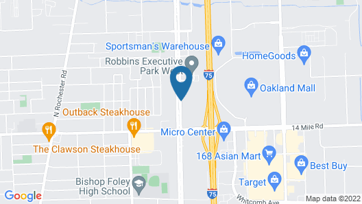 Holiday Inn Express & Suites Detroit North - Troy, an IHG Hotel Map