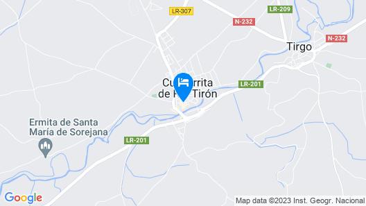 Rusticae Hotel Teatrisso Map