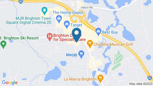 Candlewood Suites Brighton, an IHG Hotel Map