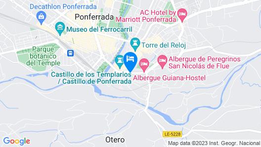 El Castillo Map