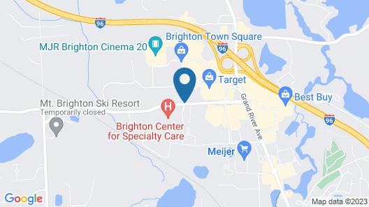 Homewood Suites by Hilton Brighton Map