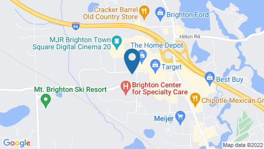Holiday Inn Express And Suites Brighton, an IHG Hotel Map
