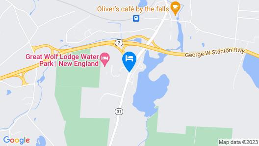 Great Wolf Lodge Boston / Fitchburg, MA Map