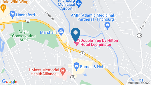 Doubletree by Hilton Hotel Leominster Map