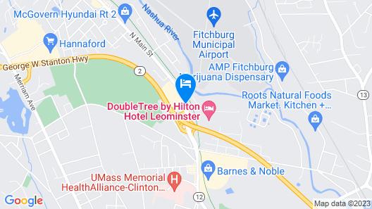 Days Inn by Wyndham Leominster/Fitchburg Area Map