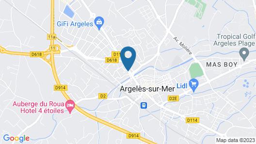 Hôtel le Nid Map