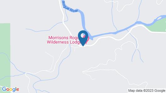Morrison's Rogue River Lodge Map