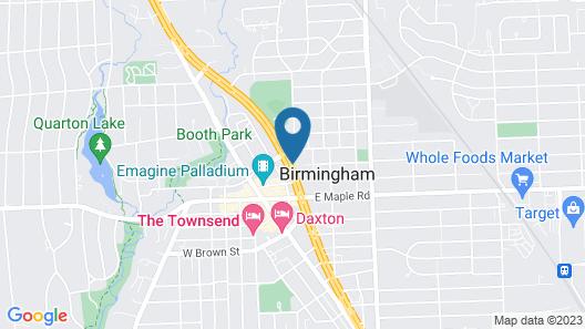 Holiday Inn Express Detroit-Birmingham Map