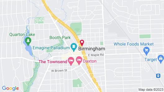 Holiday Inn Express Detroit-Birmingham, an IHG Hotel Map