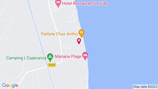 Hôtel La Lagune Map