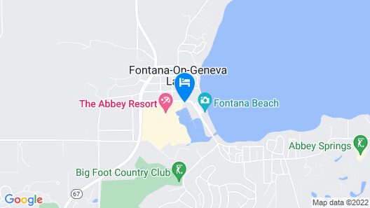 Abbey Resort and Avani Spa Map