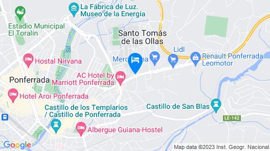 AC Hotel Ponferrada by Marriott Map
