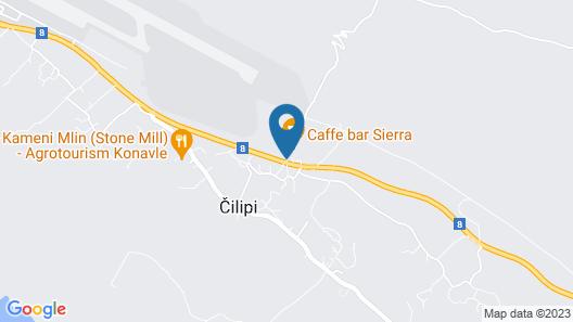 Hotel Konavle Map