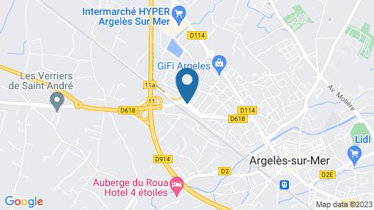Hôtel Acajou Map