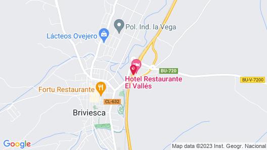 Hotel El Vallés Map
