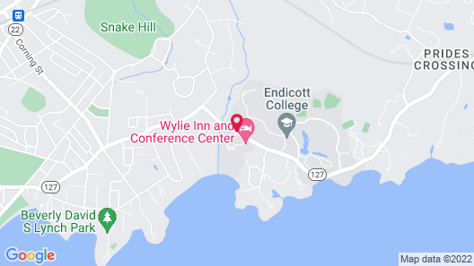 The Wylie Inn and Conference Center at Endicott College Map