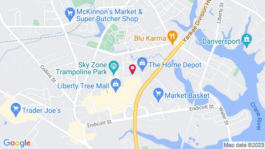 Sonesta Select Boston Danvers Map