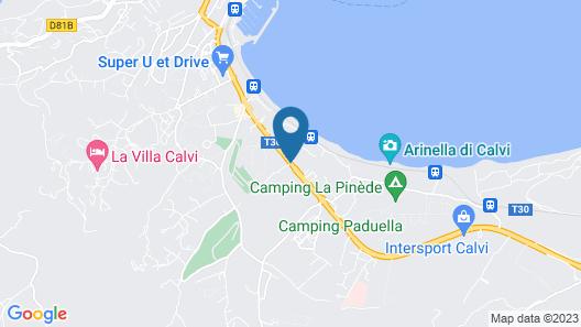 Calvi Hôtel Map