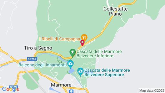 Il Casolare Della Cascata Map