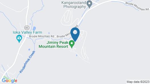 Club Wyndham Bentley Brook Map
