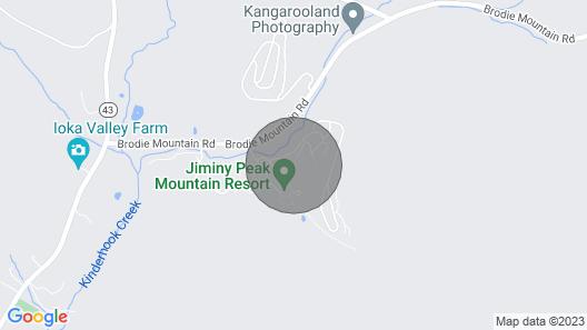 Bentley Brook Accomodations Ski-in Ski-out @ Jiminy Peak 2 Bedroom Rental Map
