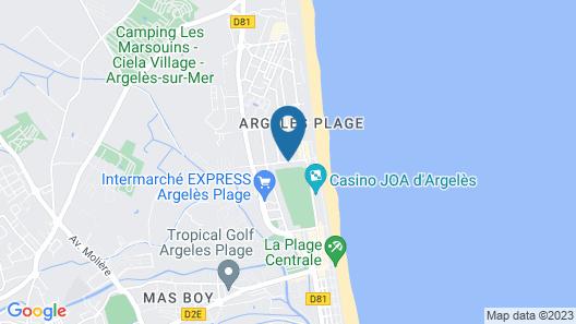 Hôtel Le Maritime Map
