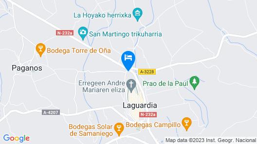 Legado de Zabala Map