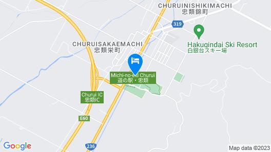 Tokachi Nauman Onsen HOTEL arco Map