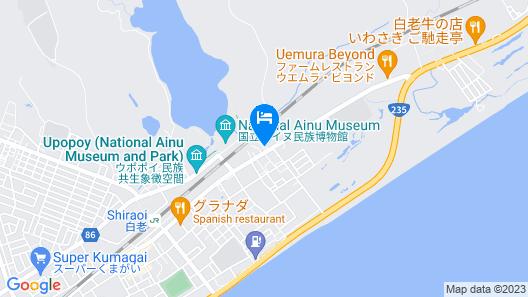 Pirika Rera Hotel Map