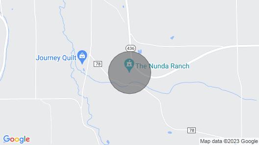 The Nunda Ranch Near Letchworth State Park Map