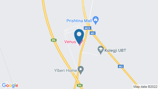 Venus Hotel Map