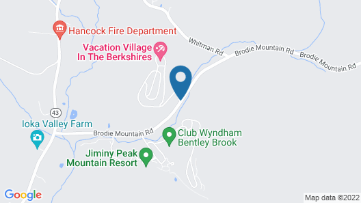 Vacation Village in the Berkshires Map