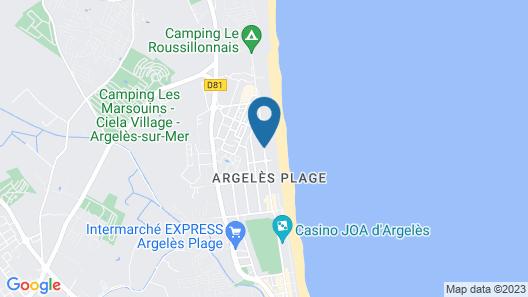Grand Hôtel du Lido Map
