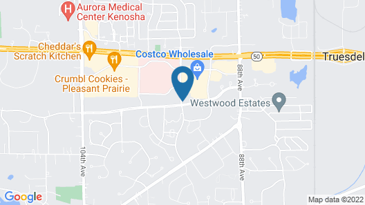 Holiday Inn Express Hotel & Suites Pleasant Prairie-Kenosha Map