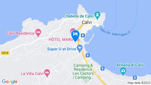 Hôtel Casa Bianca Map