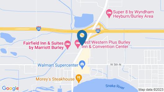 Budget Motel Map