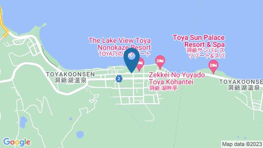 Toya Kanko Hotel Map