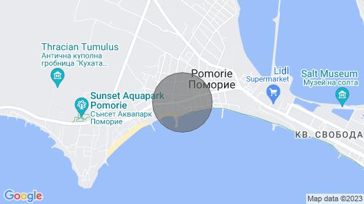 Daydream Apartment - Pomorie, Bulgaria Map