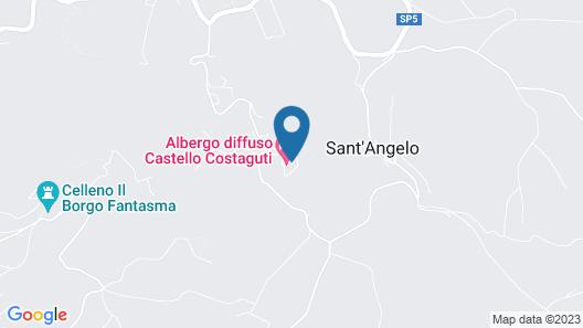 Castello Costaguti Map
