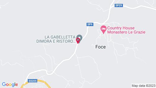 La Gabelletta Map