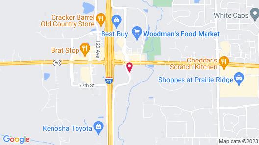 Super 8 by Wyndham Kenosha/Pleasant Prairie Map