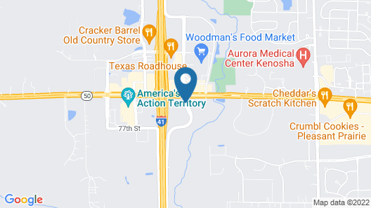 La Quinta Inn by Wyndham Pleasant Prairie Kenosha Map