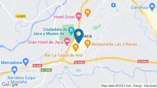Hotel El Acebo Map