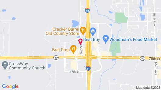 Best Western Executive Inn Map