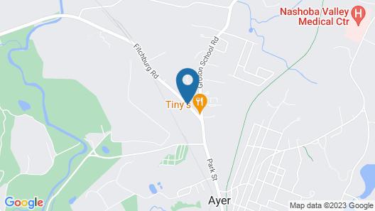 Ayer Motor Inn Map