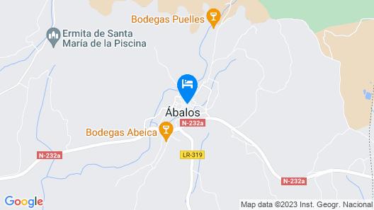 Villa de Abalos Map