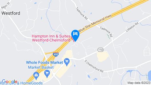 Hampton Inn & Suites Westford-Chelmsford Map