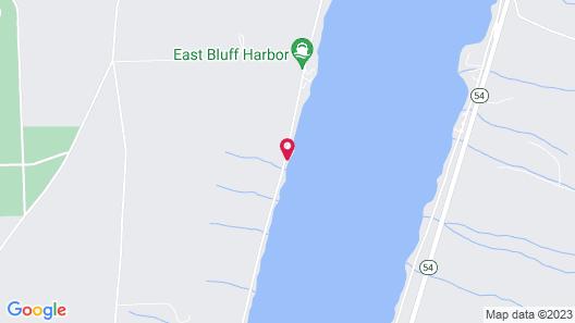 The Willows B&B on Keuka Lake Map