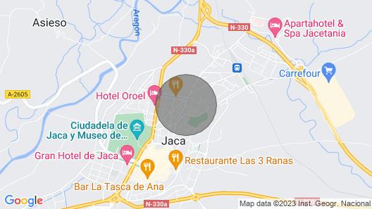 Apartamentos Ciudadela de Jaca 3000 Map