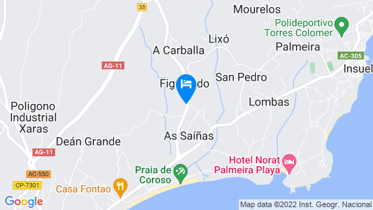 Apartment With 2 Bedrooms in Riveira Map